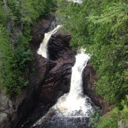 The Devil's Kettle Falls
